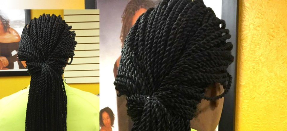 Senegalese Twist, Ida's Hair Braiding & Weaving
